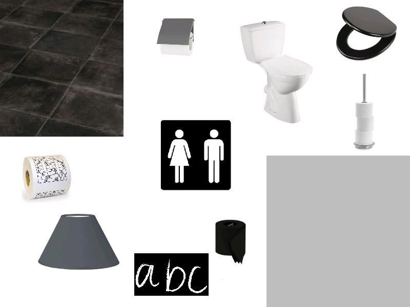 Planche de syle WC