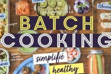 Batch cooking Zoé Armbruster