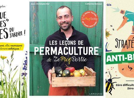 8 livres de jardinage pour être la reine de la grelinette